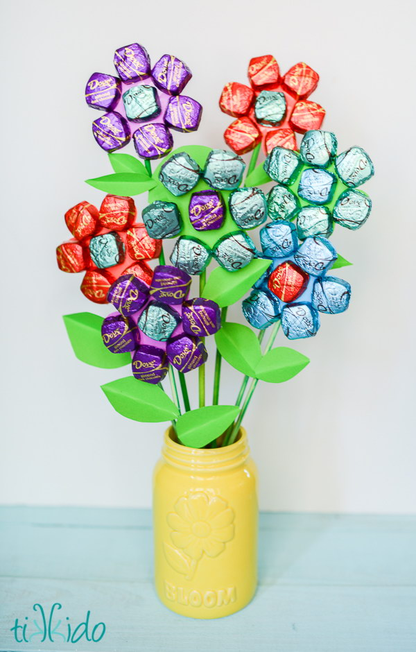 Delicious Dark Chocolate Mother's Day Bouquet.