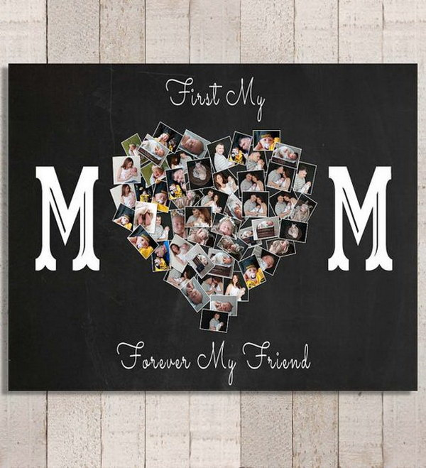 DIY Personalized Photo Canvas.