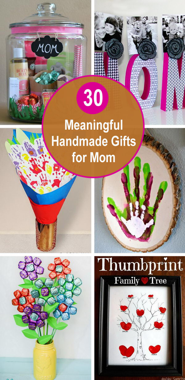30 Meaningful Handmade Gifts For Mom