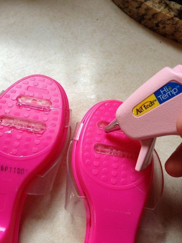 Prevent Your Child from Slipping with Glue Gun.