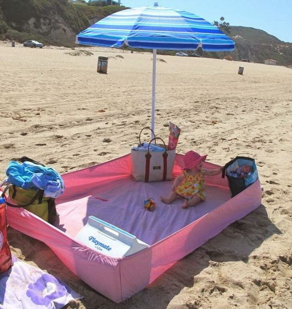 Clever Beach Hacks for Kids.