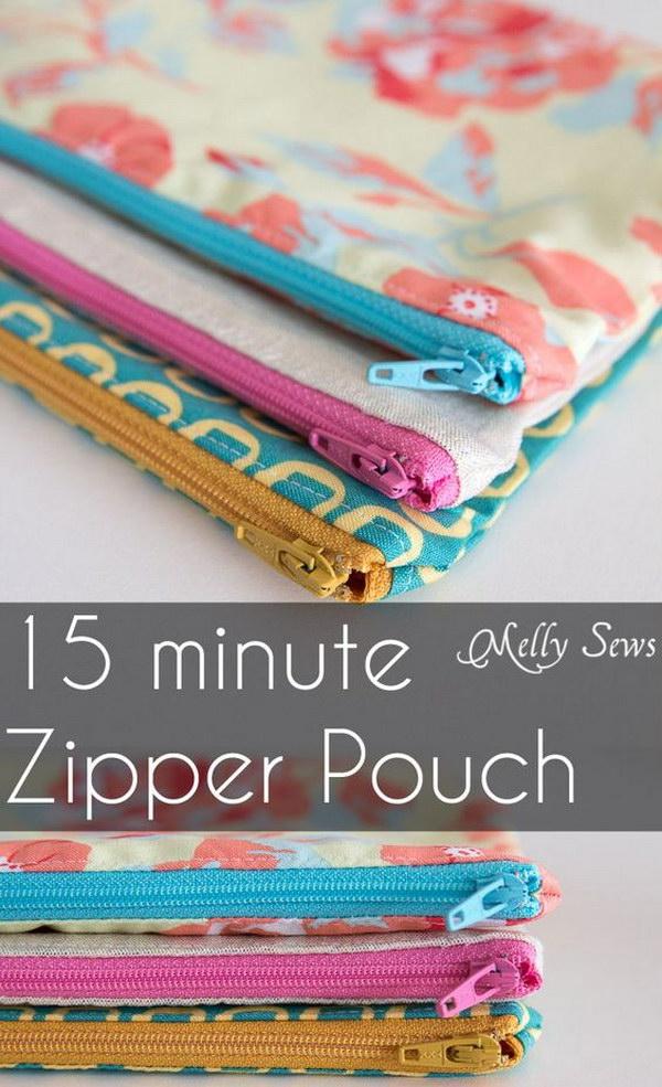 10 Minutes Zipper Pouch