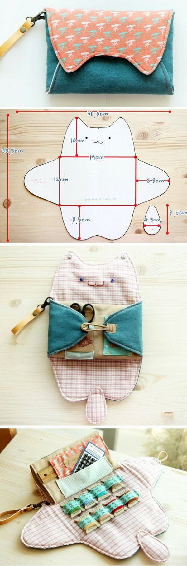 Sewing Purse Bag Organizer
