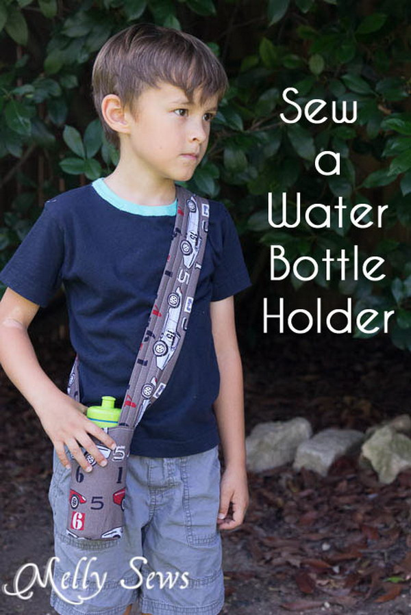 Should Strap Water Bottle Holder