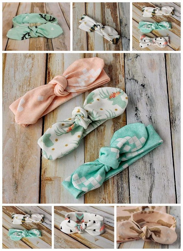 DIY Knot Bow Headband