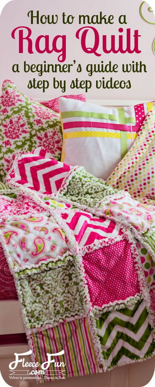 Easy DIY Rag Quilt