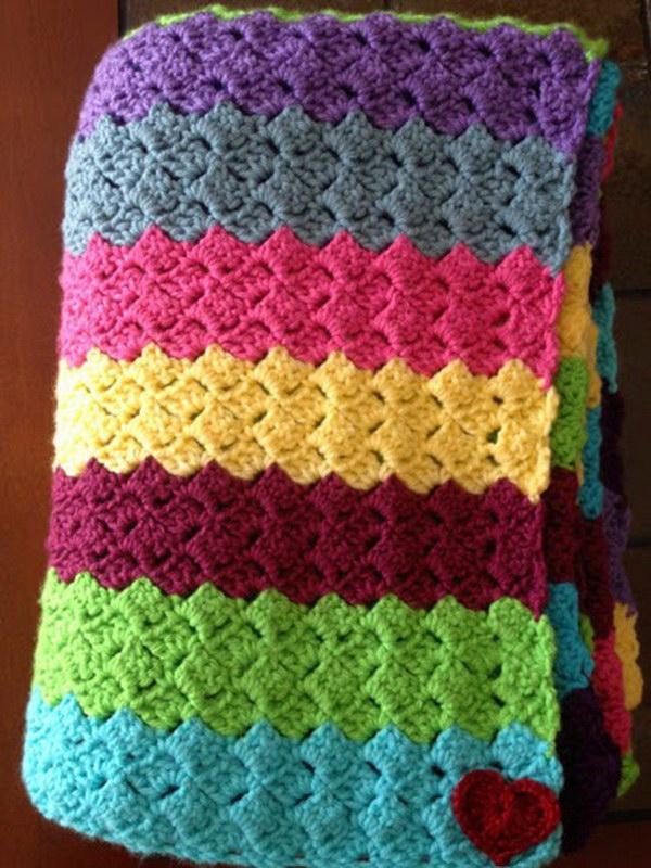 Crochet Sampler Afghan.