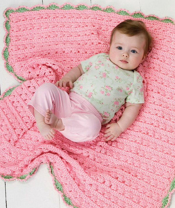 Crochet Chevron Blanket.