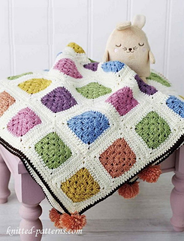 Free Crochet Pattern For A Blanket : 20+ Awesome Crochet Blankets With Tutorials and Patterns