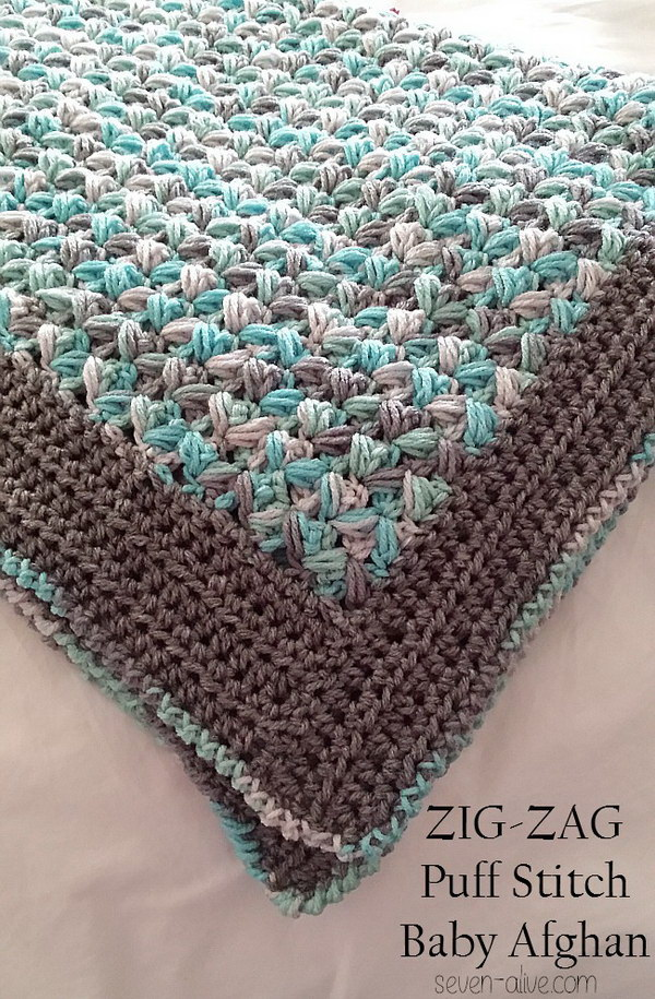 Free Crochet Patterns For Blankets And Throws : 20+ Awesome Crochet Blankets With Tutorials and Patterns