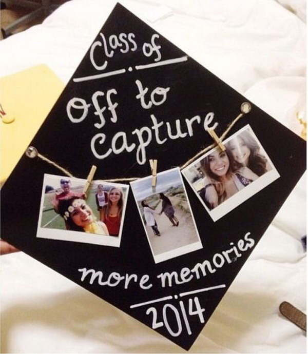 Best Friends Photos Graduation Cap Decorating