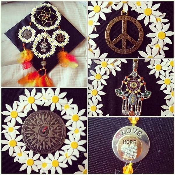 The Dreamcatcher Graduation Cap Decorating