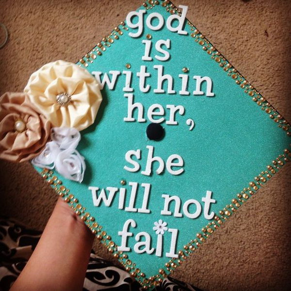 God Is Within Her, She Will Not Fail