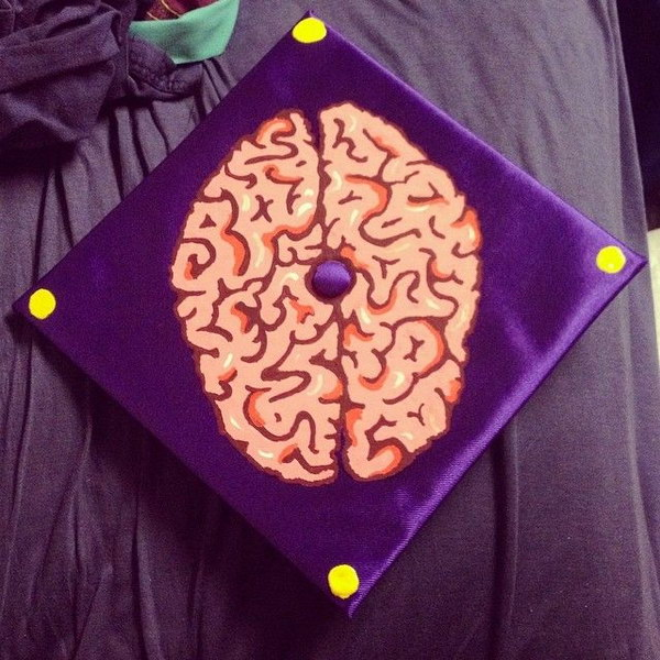 Psychology Graduation Cap Decorating