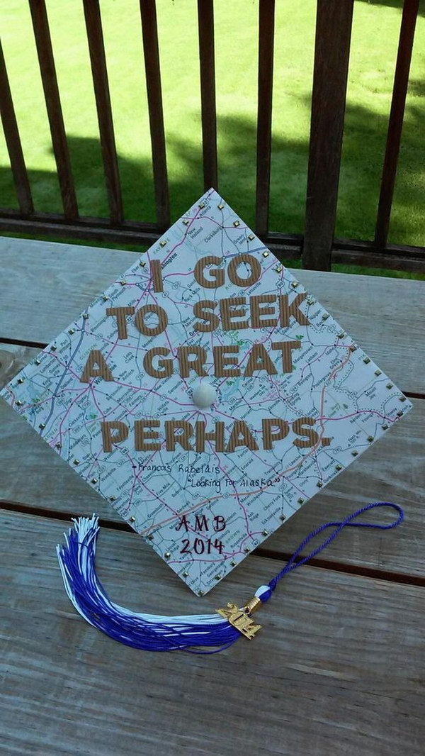 Graduation Cap Decorating Inspired By Looking For Alaska