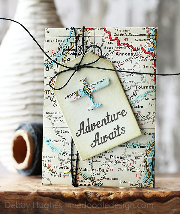 Adventure Awaits Gift Card Envelope.