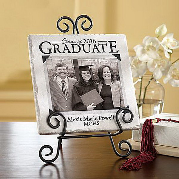 Graduation Photo Tile.