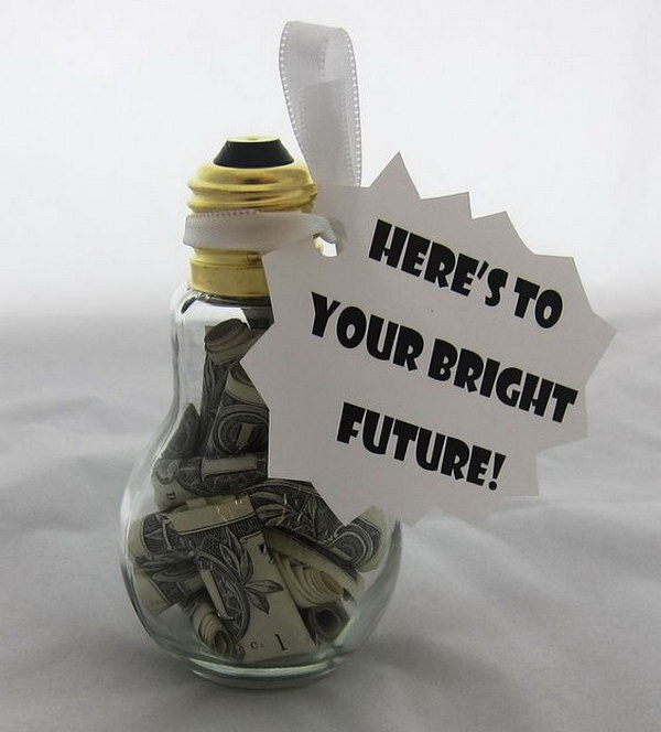 Money in the Light Bulb.