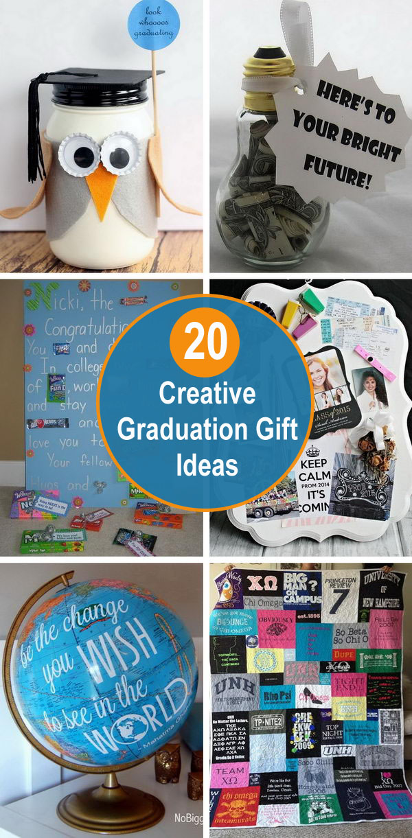 20 Creative Graduation Gift Ideas.