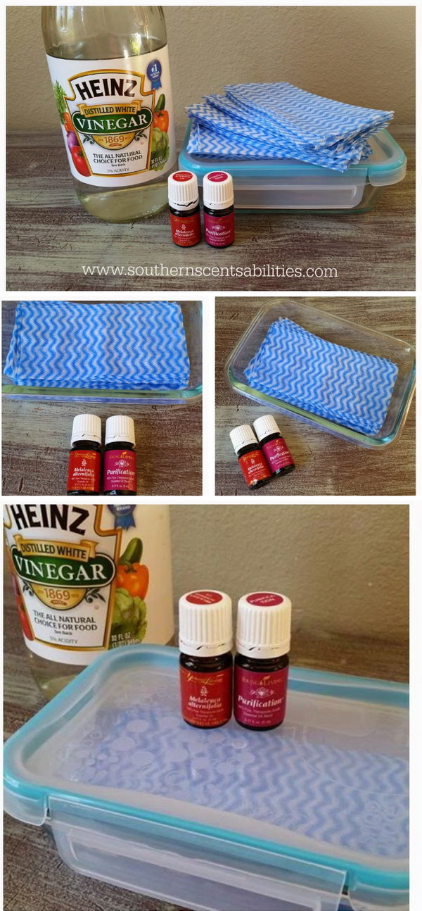 Homemade Dryer Sheets With Lots Of Tutorials