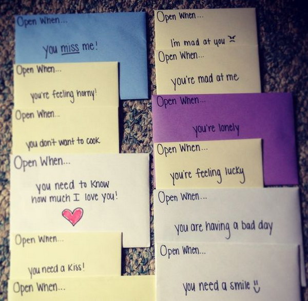 romantic love letters for boyfriend 22 open when letter
