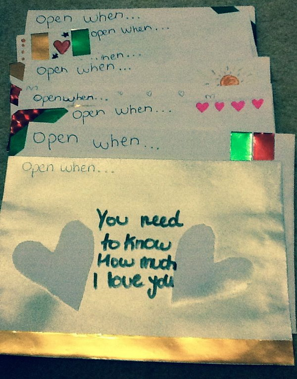 best love letters for him