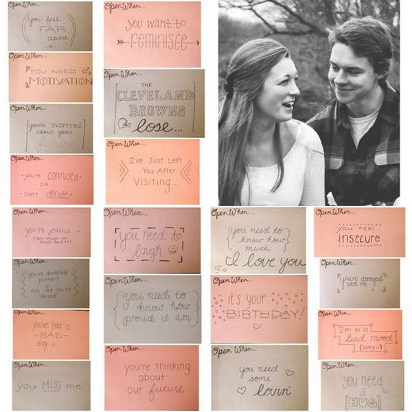 letters for long distance boyfriend