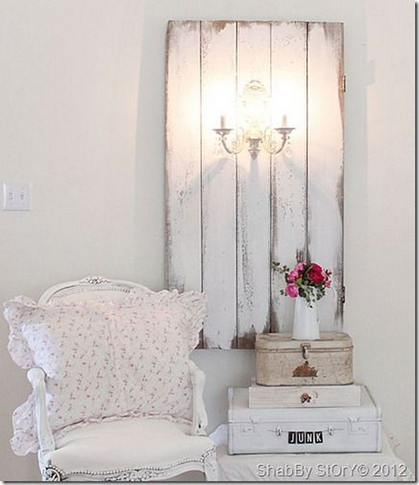 romantic shabby chic diy project ideas tutorials hative. Black Bedroom Furniture Sets. Home Design Ideas