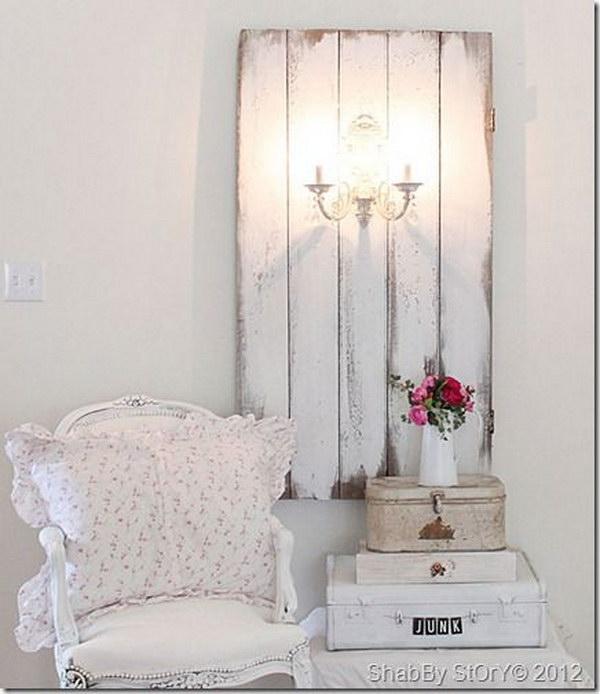 Home Decor Shabby Chic: Romantic Shabby Chic DIY Project Ideas & Tutorials 2017