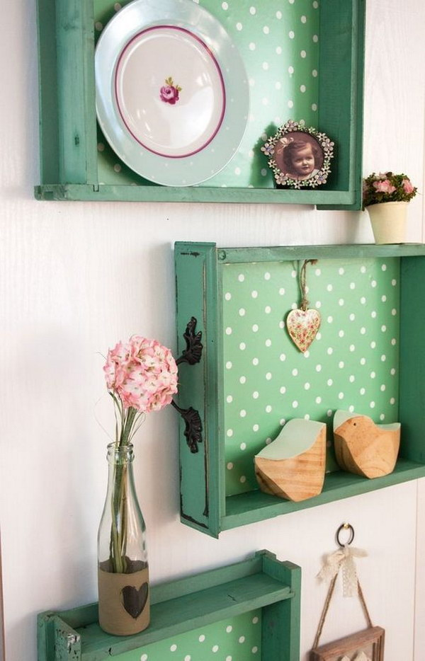 30 diy ideas tutorials to get shabby chic style for Repurposed home decorating ideas