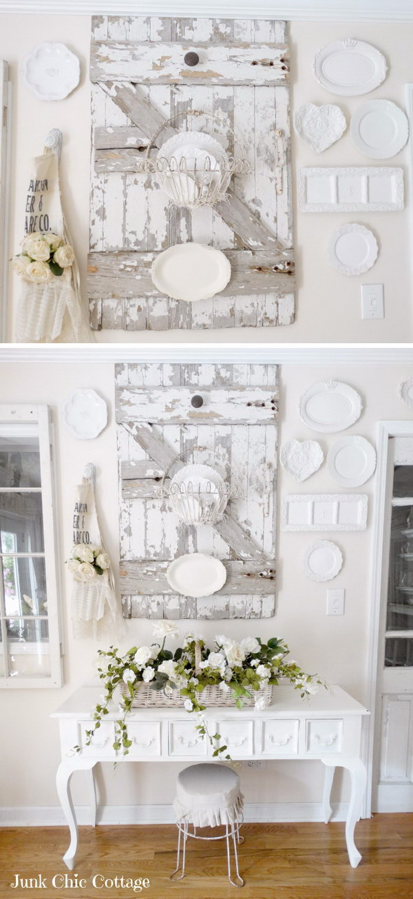 30 diy ideas tutorials to get shabby chic style for Shabby chic cottage decor
