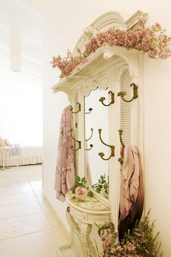 30 diy ideas tutorials to get shabby chic style Decorating your home shabby chic cottage style
