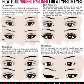 Easy Eyeliner Tips & Hacks