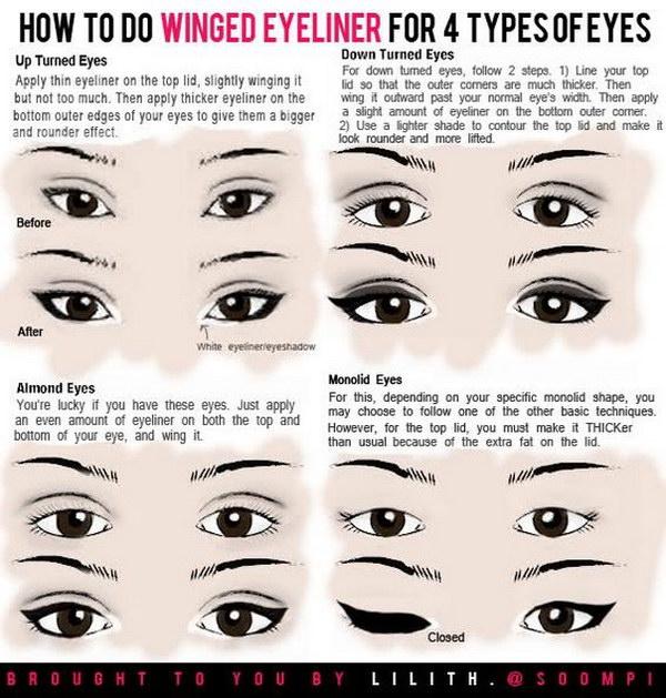 1 eyeliner tips hacks