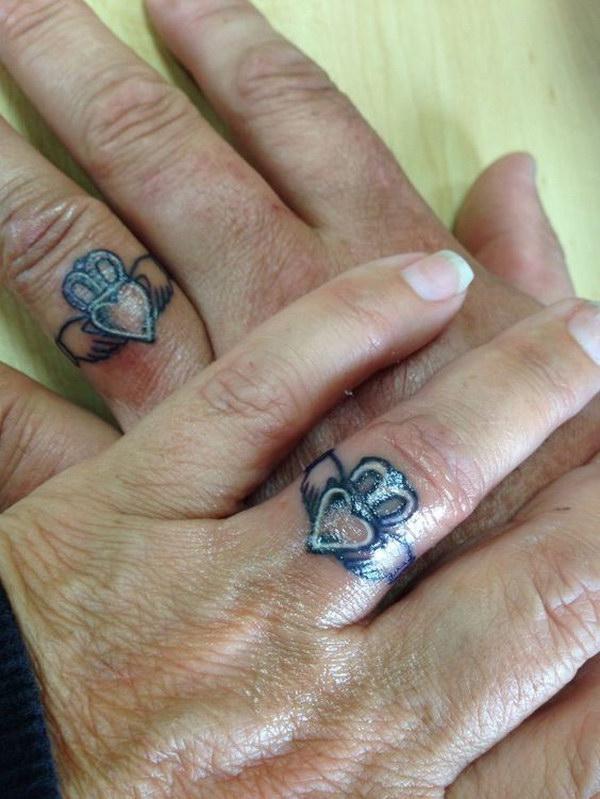 Claddagh Ring Tattoo.
