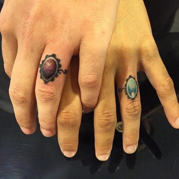 Wedding Jewelry Ring Tattoos.