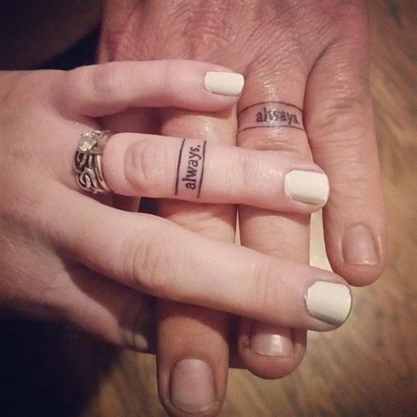 Always Ring Tattoo.