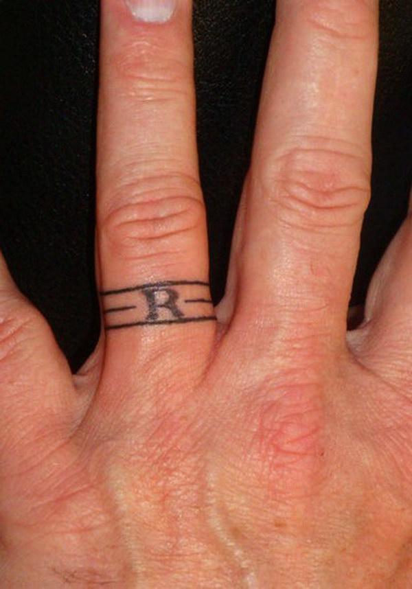 Male Wedding Ring Tattoo Designs: 40+ Sweet & Meaningful Wedding Ring Tattoos