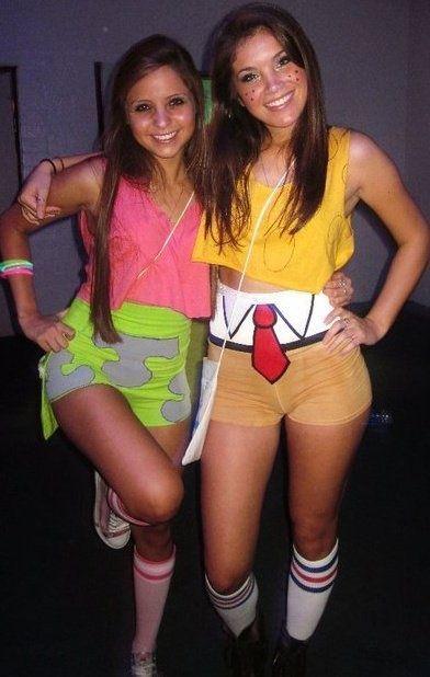 Spongebob and Patrick Best Friend Costumes.