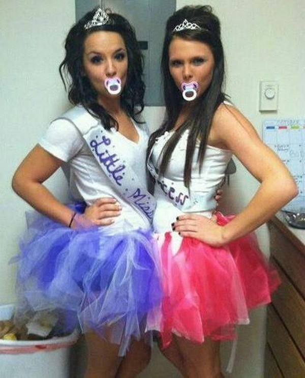 Toddlers and Tiaras Best Friend Costumes.