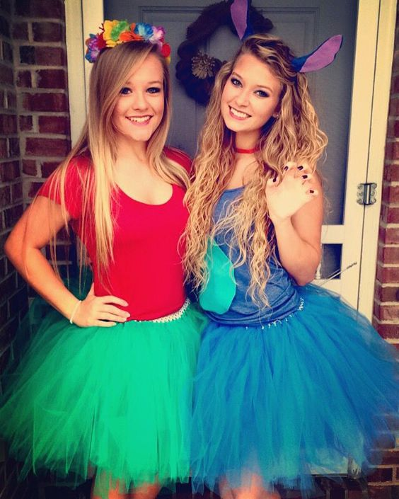 20 Best Friend Halloween Costumes For Girls