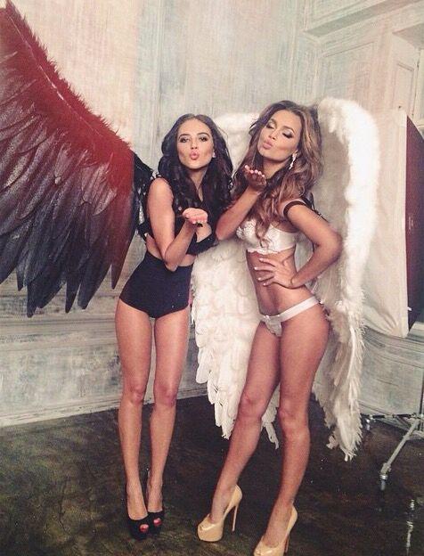 Angel and Devil Halloween Costume.