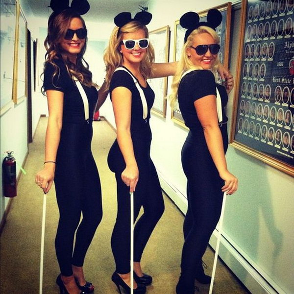 Three Blind Mice Costumes.