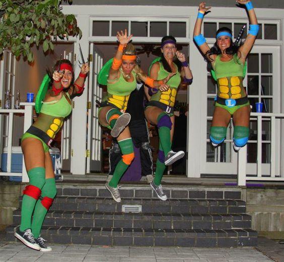 Ninja Turtles Best Friend Costumes.