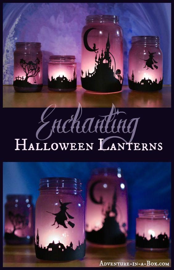 Easy to Make Magical Halloween Lanterns.