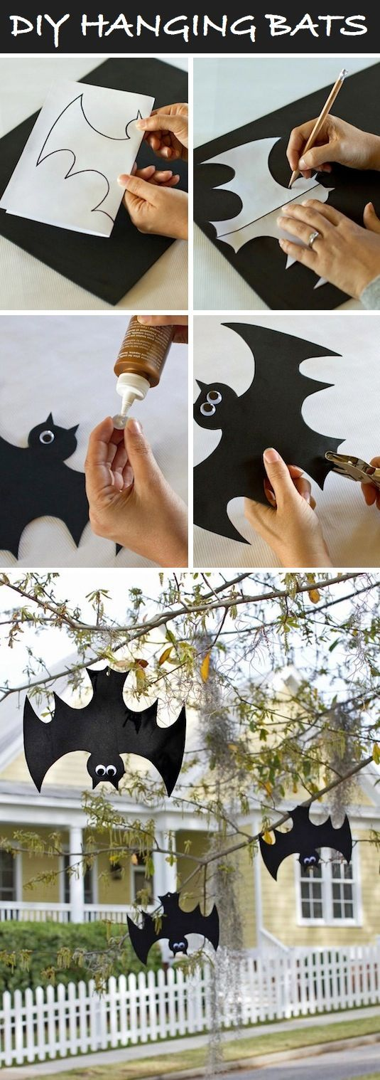 Hanging Bats.