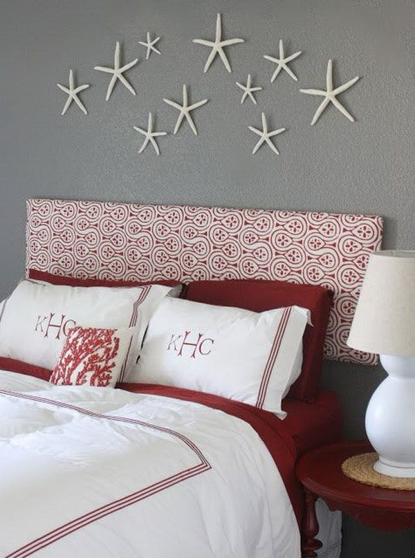 Hanging Starfish on the Wall.