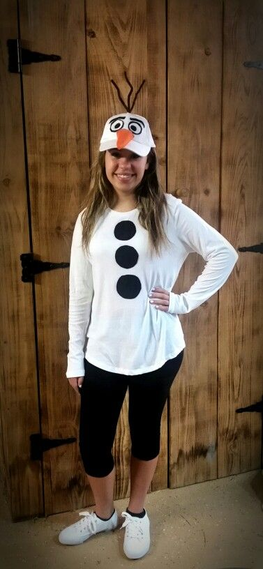 Olaf Inspired Costume.
