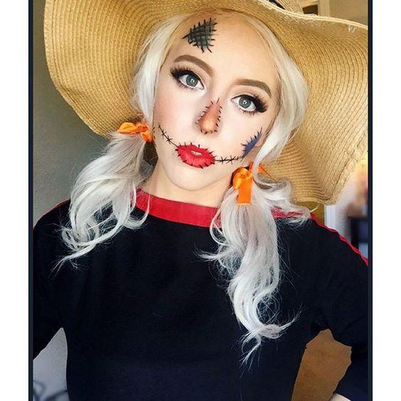 Scarecrow costume.