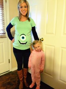 Monsters Inc Costumes Pregnant .